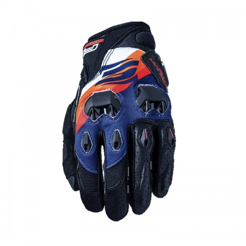 Γάντια Five Stunt Replica Sunny πορτοκαλί-navy