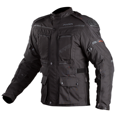 Fovos Explorer Knox jacket black-red