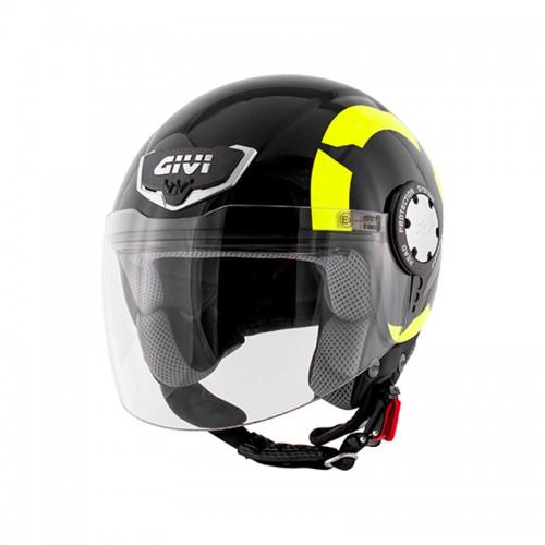 Κράνος Givi H10.4F Stark gloss μαύρο-κίτρινο fluo