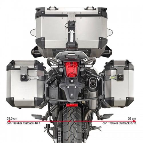 Βάσεις πλαϊνών βαλιτσών OBK PL6413CAM_ TIGER800XC-XR 2018  Triumph Givi