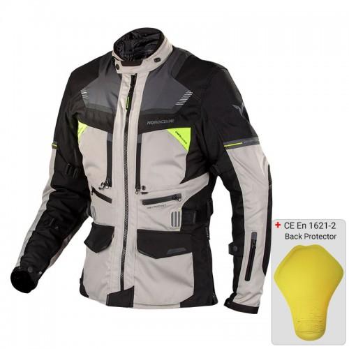 Jacket Nordcode Adventure Evo lady black - light grey - fluo