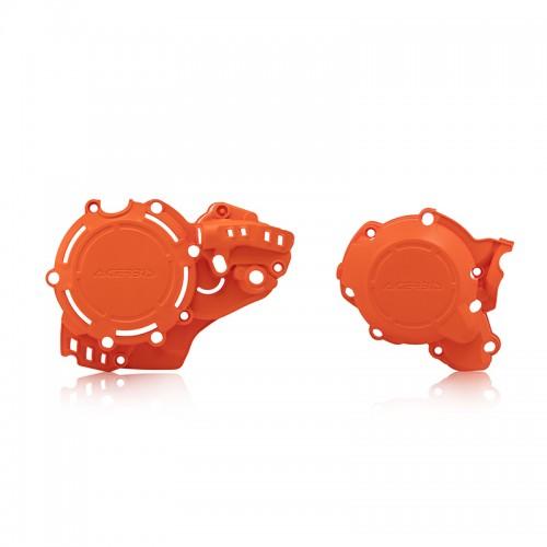 Προστατευτικό κάλυμμα κινητήρα Acerbis X-Power_23674.011.016_ KTM SC/TC 250 '19 _ πορτοκαλί 2