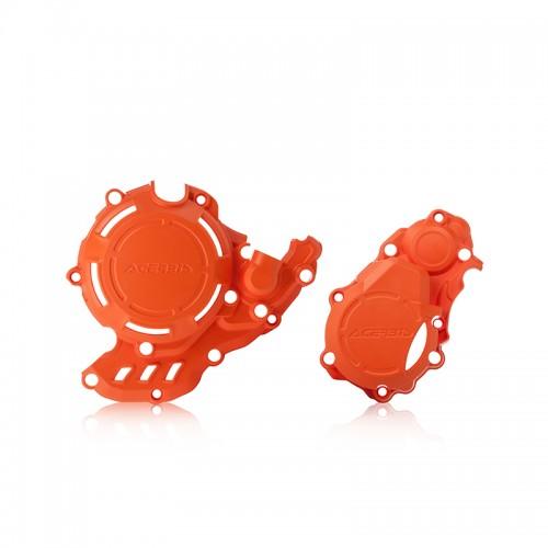 Προστατευτικό κάλυμμα κινητήρα Acerbis X-Power_ 23573.011.016_ KTM SX-F/FC 250/350 '16 πορτοκαλί 2