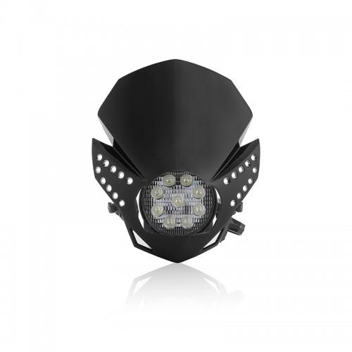 Μάσκα-φανάρι Acerbis Fulmine led _ 22772.090_ μαύρο
