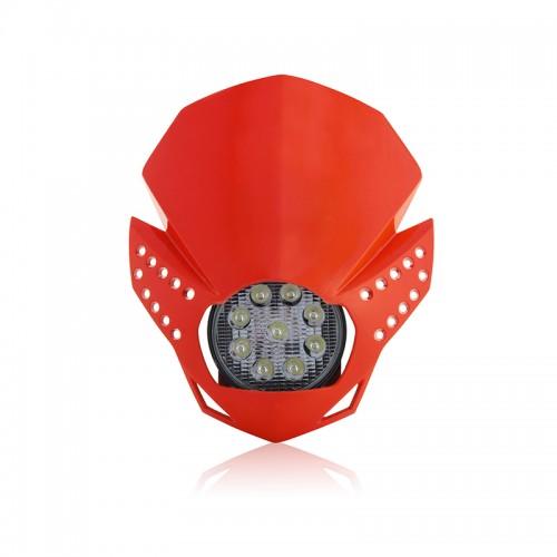 Μάσκα-φανάρι Acerbis Fulmine led _ 22772.110_ κόκκινο