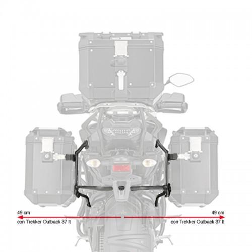 Βάσεις πλαϊνών βαλιτσών  PL2139CAM_TRACER 900/GT 2018-19 Yamaha GIVI