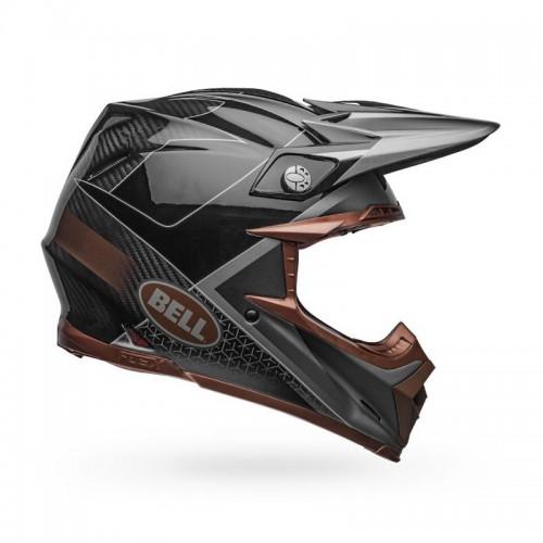 Κράνος Bell MOTO-9 Flex Hound μαύρο-bronze