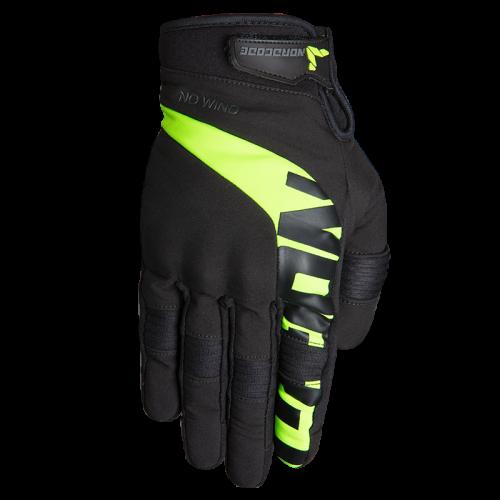 Nordcode Glenn II Gloves Black-Fluo Yellow