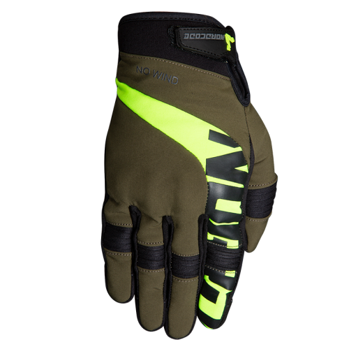 Nordcode Glenn II Gloves Olive-Fluo Yellow